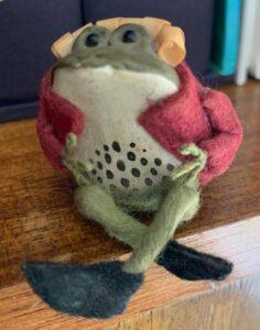 CVS JP Figurine 2 Frog