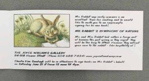 CVS JP Invite JWG Mr Rabbits Symphony of Nature int