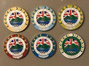 CVS Sea To Sky Rally Medallion Badges