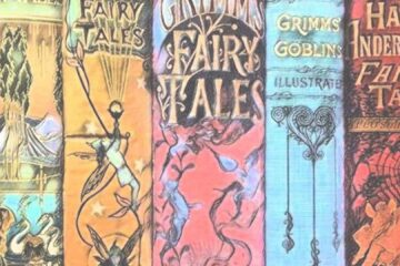 fairy tale book spines Hestia Header Image