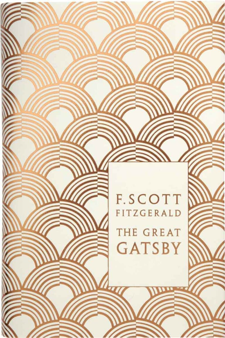 foiled fitzgerald the great gatsby