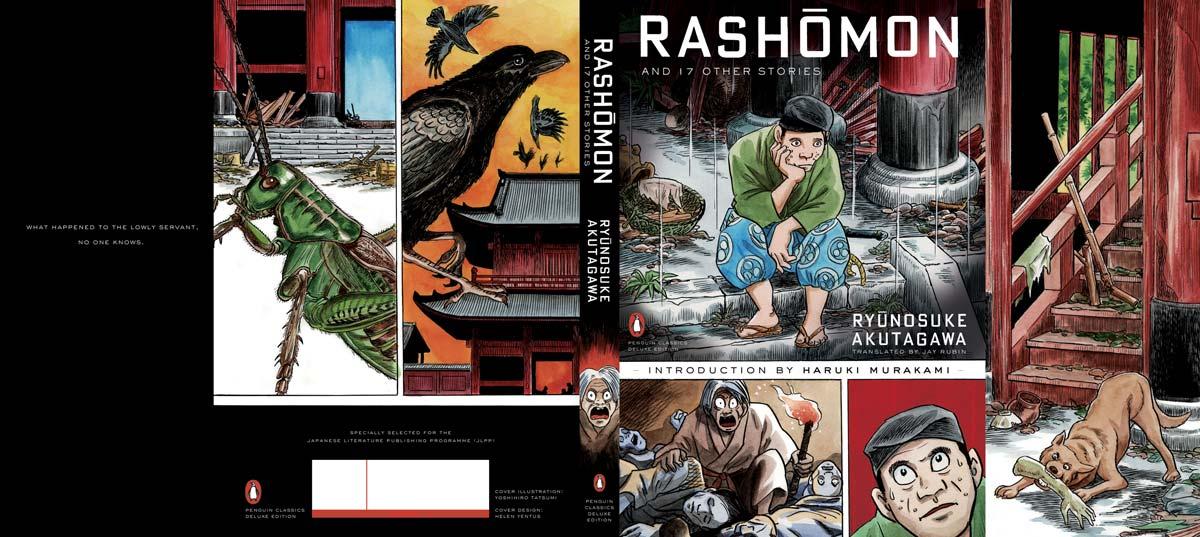 Akutagawa Rashomon Penguin Deluxe cover full