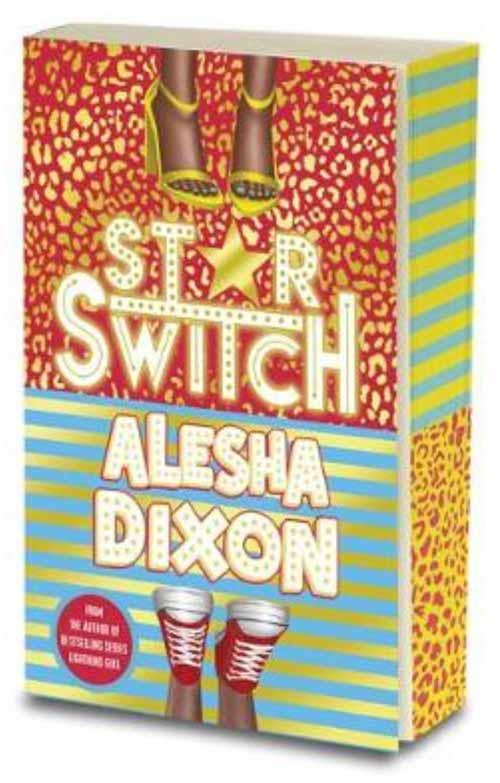 Alesha Dixon Star Switch sprayed sm 1