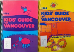 CVS 1984 Kids Guide to Vancouver covers