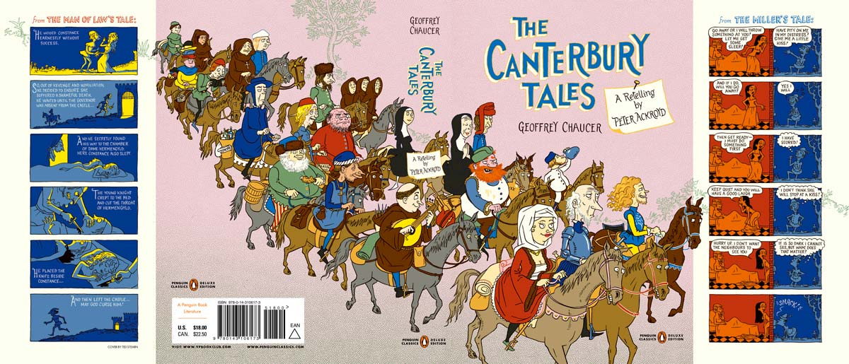 Chaucer canterbury tales penguin deluxe cover full