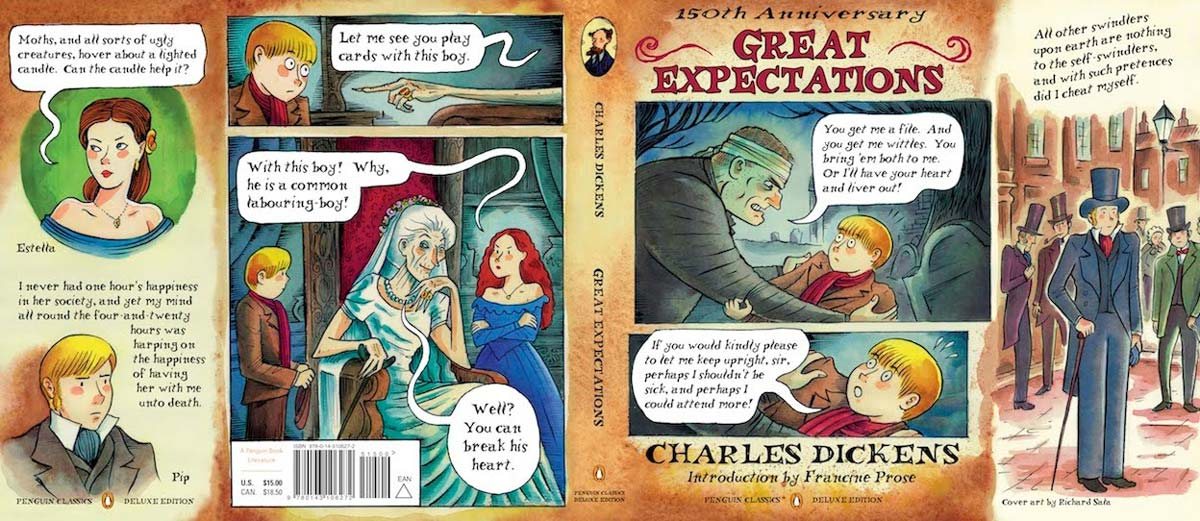Dickens Great Expectations Penguin Deluxe 150Ann cover full