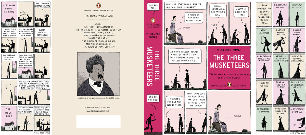 Dumas The Three Musketeers Penguin Deluxe cover full