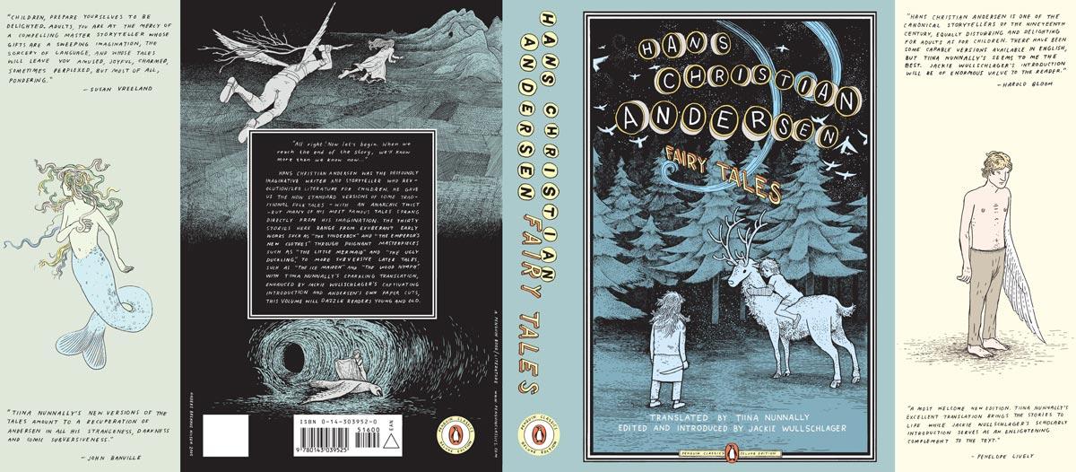 Hans Christian Andersen Fairy Tales Penguin Deluxe cover full