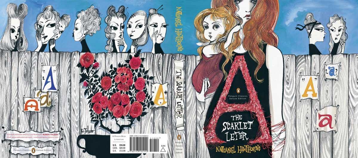Hawthorne The Scarlet Letter Penguin Deluxe cover full