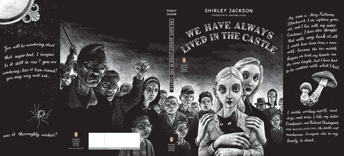 Jackson We Have Always Lived in the Castle Penguin Deluxe cover full