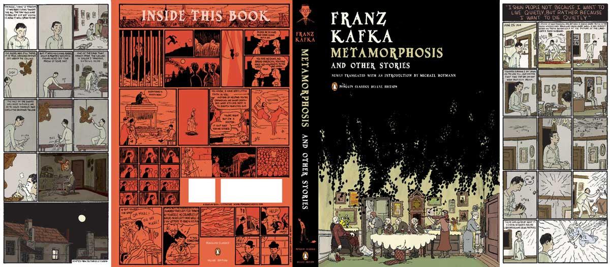 Kafka Metamorphosis Penguin Deluxe cover full