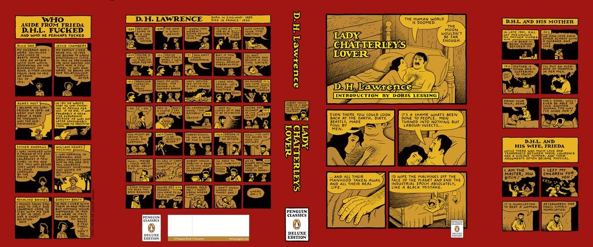 Lawrence Lady Chatterleys Love Penguin Deluxe cover full
