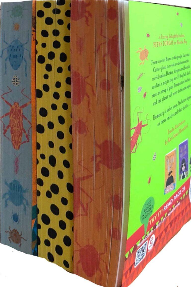 MG Leonard Beetle Boy series sprayed page edges sm