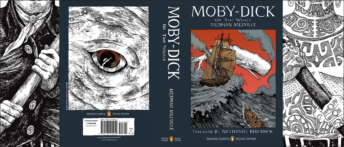 Melville Moby Dick Penguin Deluxe cover full