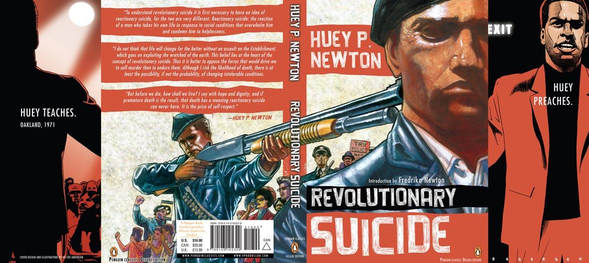 Newton Revolutionary Suicide Penguin Deluxe Cover full