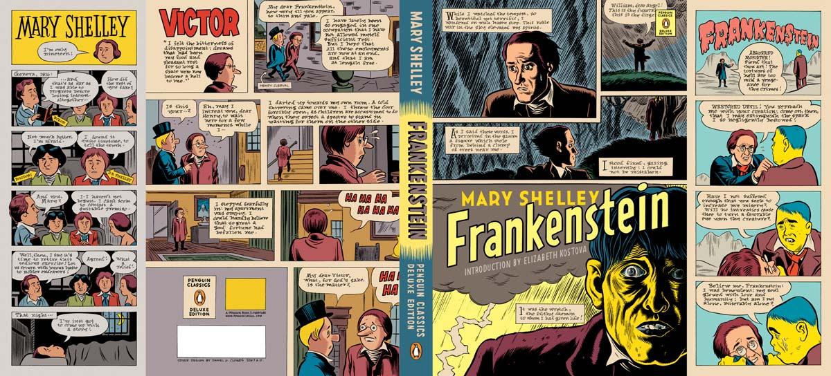 Shelley Frankenstein Penguin Deluxe cover full