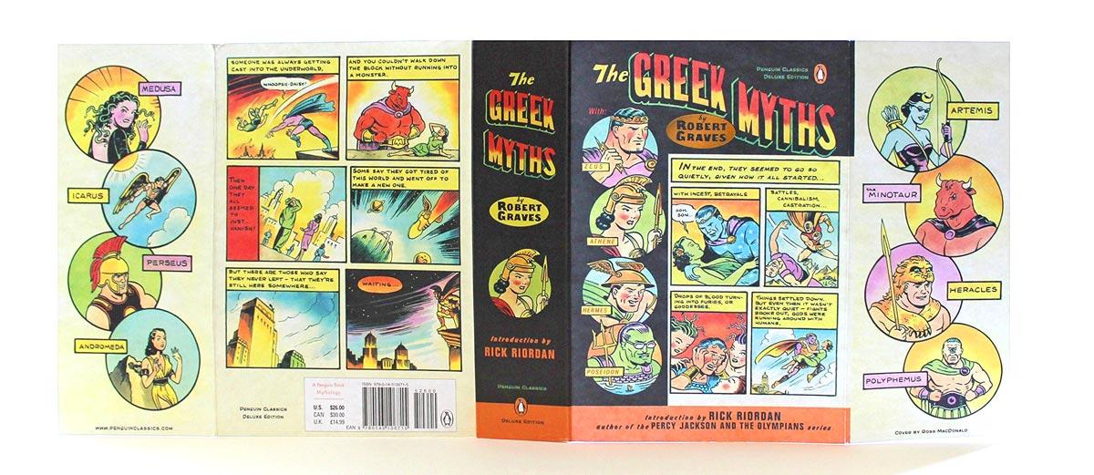 The Greek Myths Penguin Deluxe cover full 2