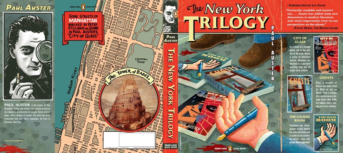 The New York Trilogy Penguin Deluxe cover full