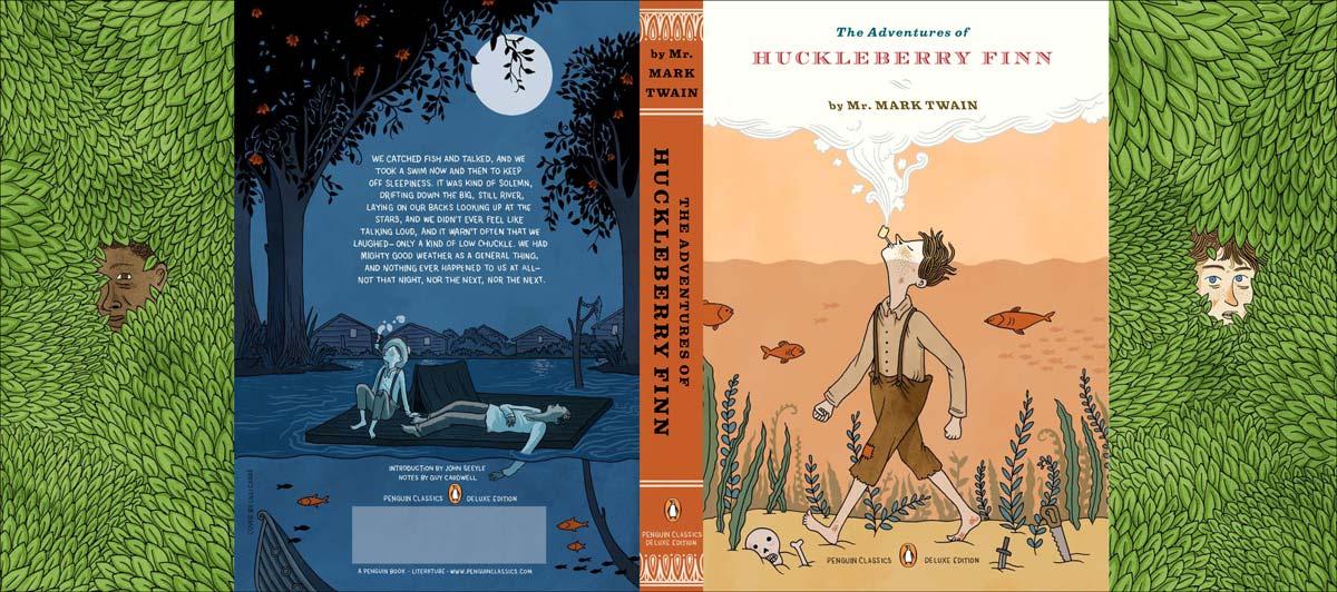 Twain Huckleberry Finn Penguin Deluxe cover full
