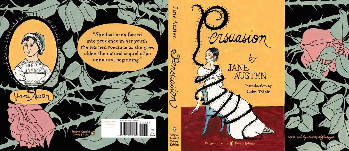 austen Persuasion Penguin Deluxe cover full UK