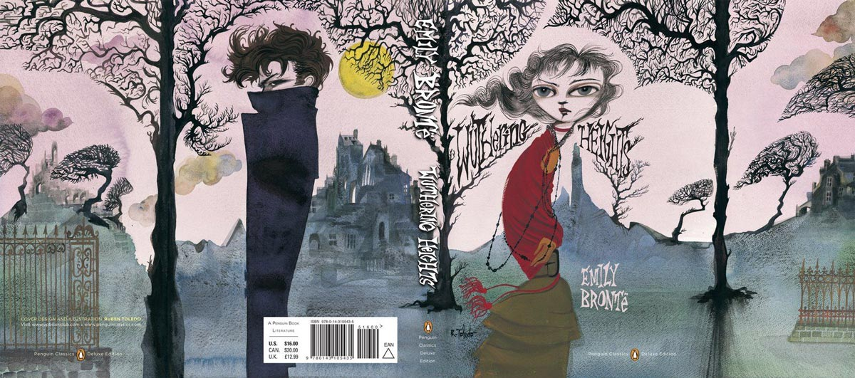 bronte wuthering heights penguin deluxe full