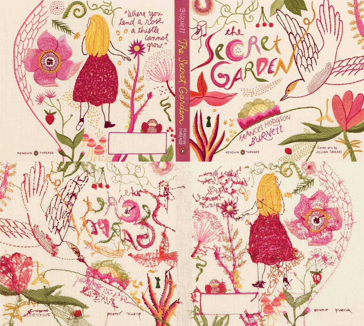 burnett secret garden penguin deluxe threads combo