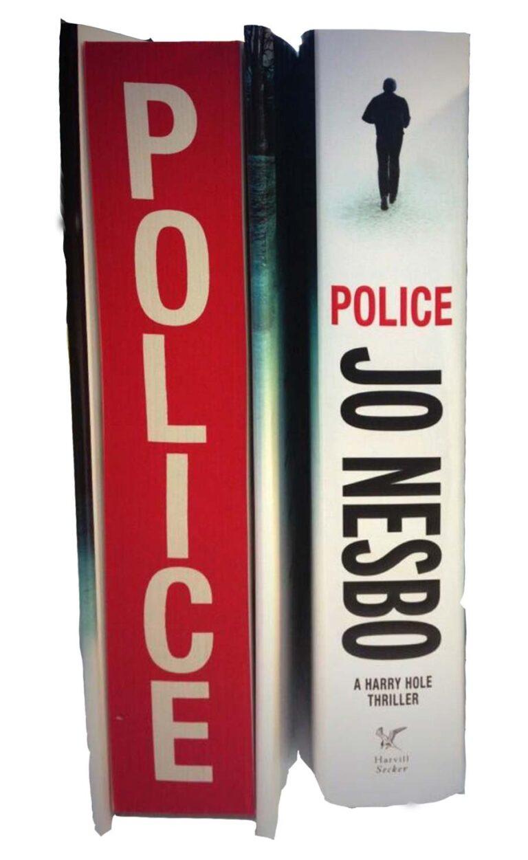 jo nesbo police sprayed page edges sm