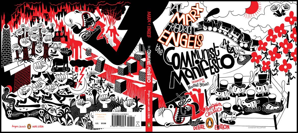 marx The Communist Manifesto Penguin Deluxe cover full