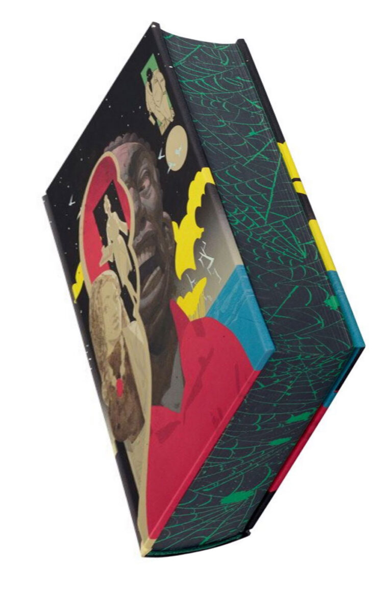 neil gaiman anansi boys folio society sprayed sm