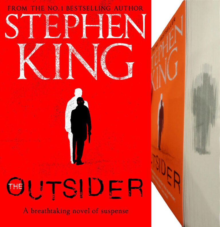 stephen king the outsider sprayed sm