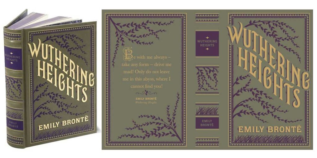 BN bronte wuthering heights signature pair
