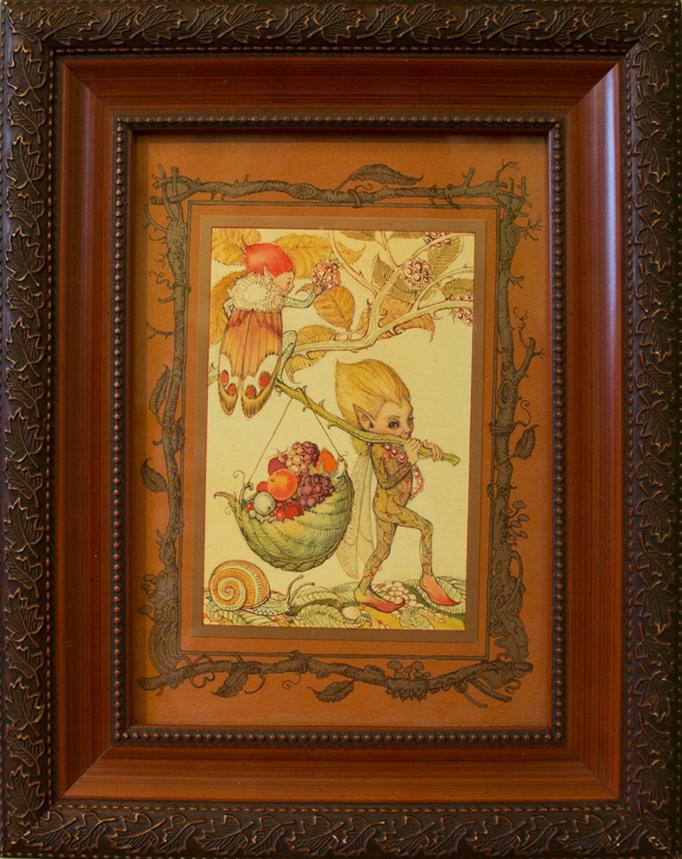 CVS Framed Art Card Autumn Fairy Pocket Guide