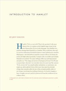 sterling shakespeare hamlet intro