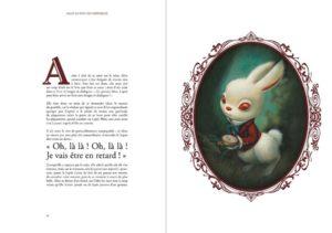 lacombe alice white rabbit
