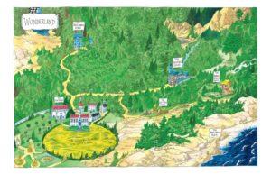 riddell alice wonderland map