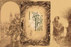lipchenko alice looking glass illustration