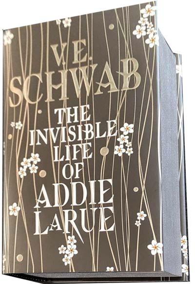schwab illumicrate addie larue hidden cover edges