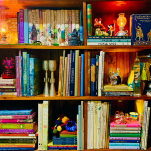 square bookshelf