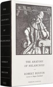burton anatomy of melancholy 2021