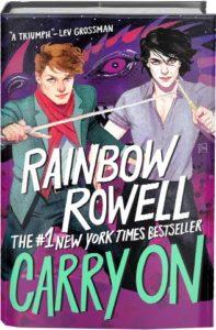 rainbow rowell carry on bookshelf edition